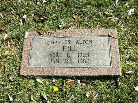 HILL, CHARLES ALTON - Bowie County, Texas | CHARLES ALTON HILL - Texas Gravestone Photos