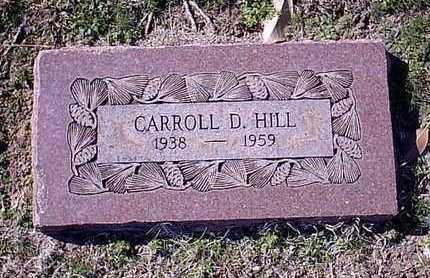 HILL, CARROLL D - Bowie County, Texas | CARROLL D HILL - Texas Gravestone Photos