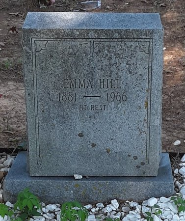 HILL, EMMA - Bowie County, Texas | EMMA HILL - Texas Gravestone Photos