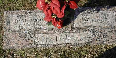 HILL, ELBERT RANDALL - Bowie County, Texas | ELBERT RANDALL HILL - Texas Gravestone Photos
