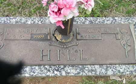 HILL, ALTA M - Bowie County, Texas | ALTA M HILL - Texas Gravestone Photos