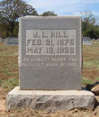 HILL, J L - Bowie County, Texas | J L HILL - Texas Gravestone Photos