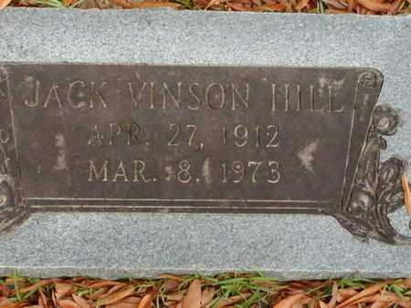 HILL, JACK VINSON - Bowie County, Texas | JACK VINSON HILL - Texas Gravestone Photos