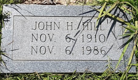 HILL, JOHN H - Bowie County, Texas | JOHN H HILL - Texas Gravestone Photos