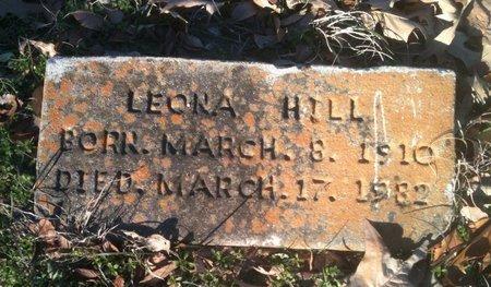 HILL, LEORA - Bowie County, Texas | LEORA HILL - Texas Gravestone Photos