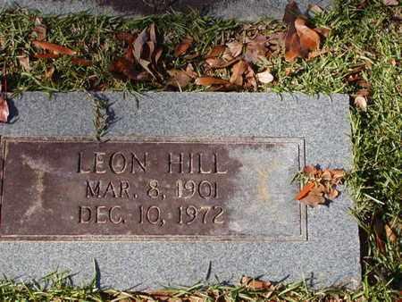 HILL, LEON - Bowie County, Texas | LEON HILL - Texas Gravestone Photos