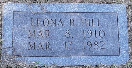 HILL, LEONA B - Bowie County, Texas   LEONA B HILL - Texas Gravestone Photos
