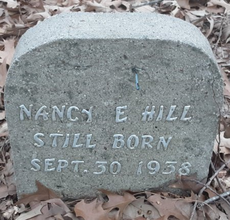 HILL, NANCY E - Bowie County, Texas | NANCY E HILL - Texas Gravestone Photos