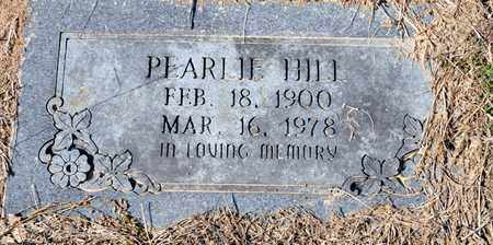 HILL, PEARL H - Bowie County, Texas | PEARL H HILL - Texas Gravestone Photos