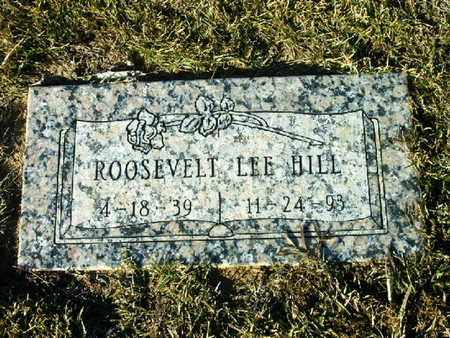 HILL, ROOSEVELT LEE - Bowie County, Texas | ROOSEVELT LEE HILL - Texas Gravestone Photos