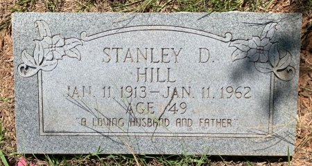 HILL, STANLEY D - Bowie County, Texas   STANLEY D HILL - Texas Gravestone Photos