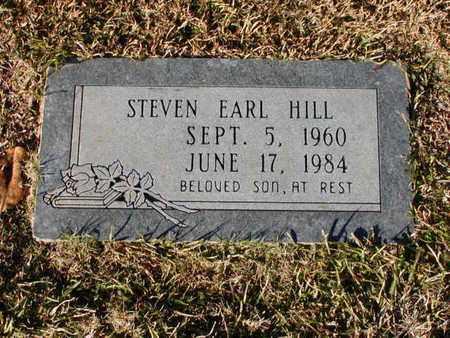 HILL, STEVEN EARL - Bowie County, Texas   STEVEN EARL HILL - Texas Gravestone Photos