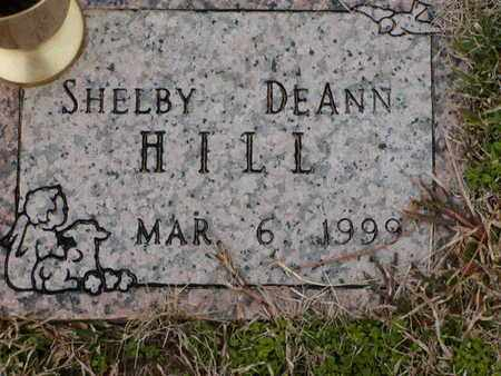 HILL, SHELBY DEANN - Bowie County, Texas | SHELBY DEANN HILL - Texas Gravestone Photos