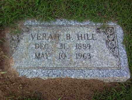 HILL, VERAH B - Bowie County, Texas | VERAH B HILL - Texas Gravestone Photos