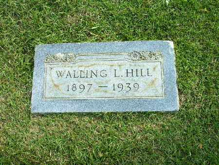 HILL, WALLING L - Bowie County, Texas   WALLING L HILL - Texas Gravestone Photos