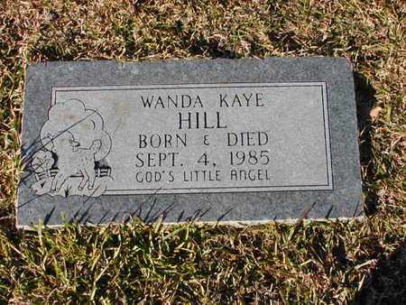 HILL, WANDA KAYE - Bowie County, Texas | WANDA KAYE HILL - Texas Gravestone Photos