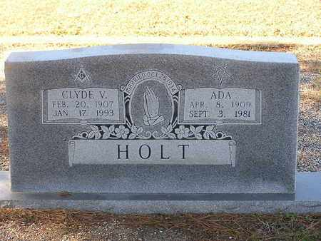 HOLT, ADA - Bowie County, Texas | ADA HOLT - Texas Gravestone Photos