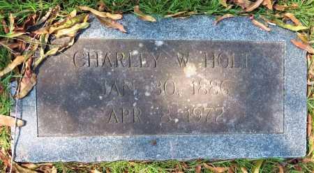 HOLT, CHARLEY - Bowie County, Texas | CHARLEY HOLT - Texas Gravestone Photos