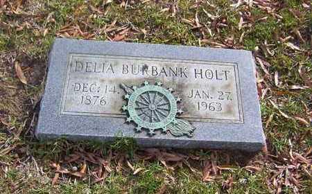 HOLT, DELIA - Bowie County, Texas | DELIA HOLT - Texas Gravestone Photos