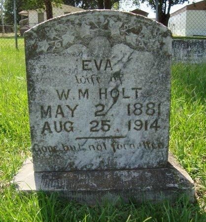 HOLT, EVA - Bowie County, Texas | EVA HOLT - Texas Gravestone Photos