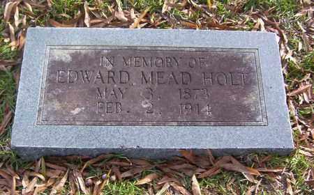 HOLT, EDWARD MEAD - Bowie County, Texas | EDWARD MEAD HOLT - Texas Gravestone Photos