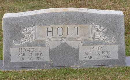 HOLT, HOMER L - Bowie County, Texas | HOMER L HOLT - Texas Gravestone Photos