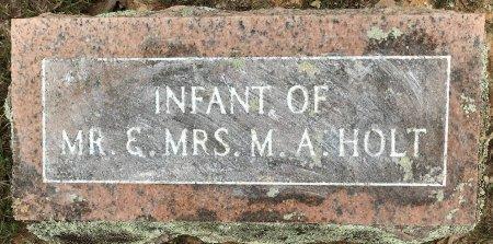 HOLT, INFANT - Bowie County, Texas   INFANT HOLT - Texas Gravestone Photos