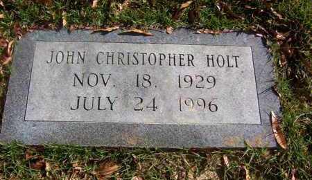 HOLT, JOHN CHRISTOPHER - Bowie County, Texas | JOHN CHRISTOPHER HOLT - Texas Gravestone Photos