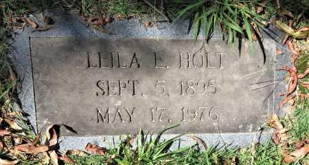 HOLT, LEILA E. - Bowie County, Texas | LEILA E. HOLT - Texas Gravestone Photos