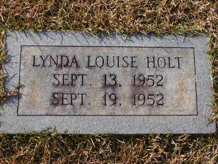 HOLT, LYNDA LOUISE - Bowie County, Texas | LYNDA LOUISE HOLT - Texas Gravestone Photos