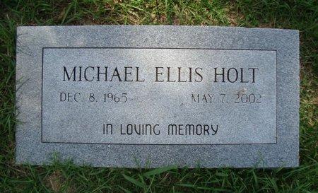 HOLT, MICHAEL ELLIS - Bowie County, Texas | MICHAEL ELLIS HOLT - Texas Gravestone Photos