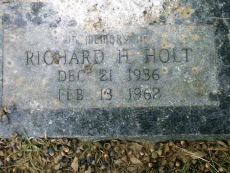 HOLT, RICHARD H - Bowie County, Texas | RICHARD H HOLT - Texas Gravestone Photos