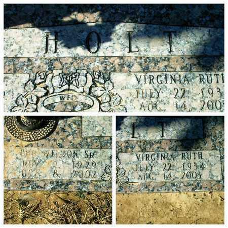 HOLT, VIRGINIA RUTH - Bowie County, Texas | VIRGINIA RUTH HOLT - Texas Gravestone Photos