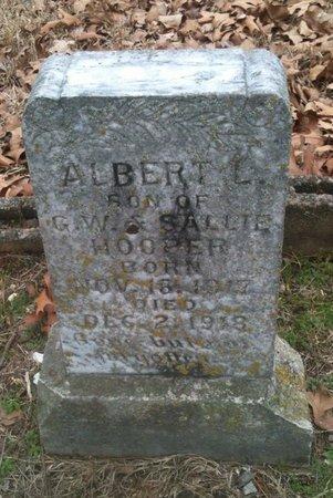 HOOPER, ALBERT L - Bowie County, Texas | ALBERT L HOOPER - Texas Gravestone Photos