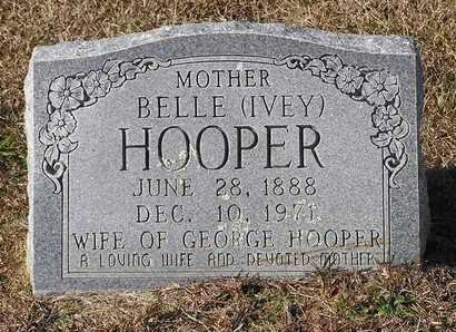 IVEY HOOPER, BELLE - Bowie County, Texas | BELLE IVEY HOOPER - Texas Gravestone Photos