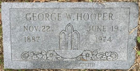 HOOPER, GEORGE W  - Bowie County, Texas | GEORGE W  HOOPER - Texas Gravestone Photos