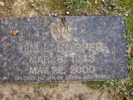HOOPER, JIM L - Bowie County, Texas   JIM L HOOPER - Texas Gravestone Photos