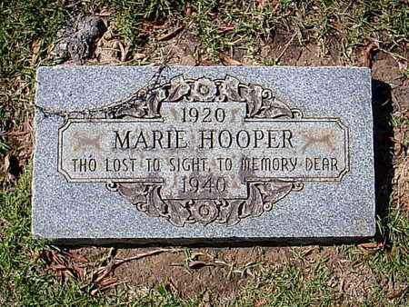 HOOPER, MARIE - Bowie County, Texas | MARIE HOOPER - Texas Gravestone Photos