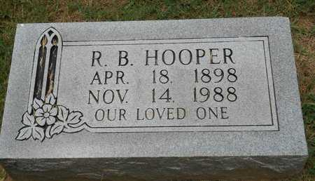 HOOPER, R.B. - Bowie County, Texas | R.B. HOOPER - Texas Gravestone Photos