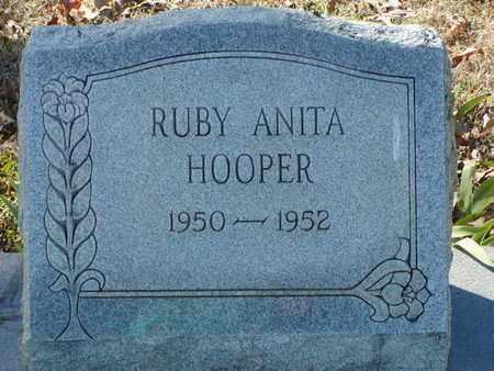 HOOPER, RUBY ANITA - Bowie County, Texas | RUBY ANITA HOOPER - Texas Gravestone Photos