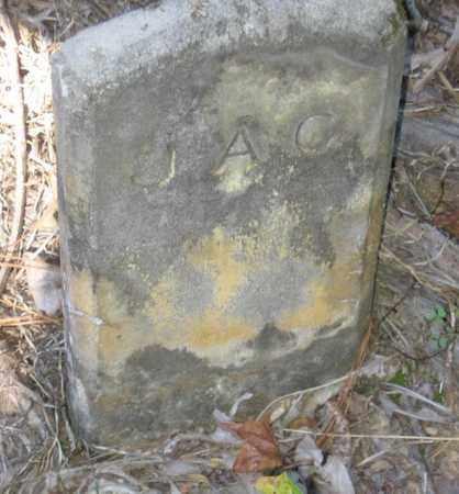 J A C,  - Bowie County, Texas |  J A C - Texas Gravestone Photos
