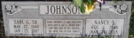 JOHNSON, NANCY S - Bowie County, Texas   NANCY S JOHNSON - Texas Gravestone Photos