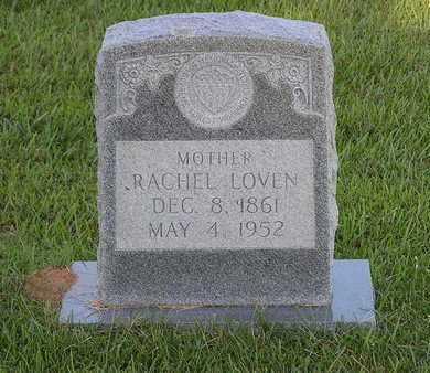 LOVEN, RACHEL - Bowie County, Texas   RACHEL LOVEN - Texas Gravestone Photos
