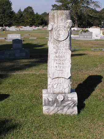 LOVEN, W W - Bowie County, Texas | W W LOVEN - Texas Gravestone Photos
