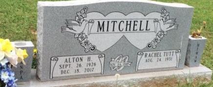 MITCHELL, ALTON H - Bowie County, Texas | ALTON H MITCHELL - Texas Gravestone Photos
