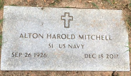 MITCHELL (VETERAN), ALTON HAROLD  - Bowie County, Texas | ALTON HAROLD  MITCHELL (VETERAN) - Texas Gravestone Photos