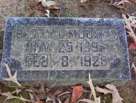 MOORES, BETTY E - Bowie County, Texas | BETTY E MOORES - Texas Gravestone Photos