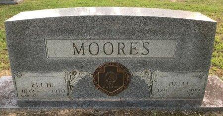 MOORES, ELI H - Bowie County, Texas | ELI H MOORES - Texas Gravestone Photos