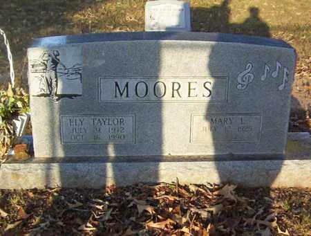 MOORES, ELY TAYLOR - Bowie County, Texas   ELY TAYLOR MOORES - Texas Gravestone Photos