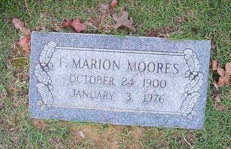 MOORES, F MARION - Bowie County, Texas | F MARION MOORES - Texas Gravestone Photos